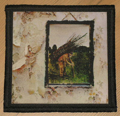 "LED ZEPPELIN ""IV"" silk screen PATCH"