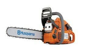 """Husqvarna 445 16"""" .325 pitcH Gas Powered Chainsaw With 2 FREE CHAINS"""