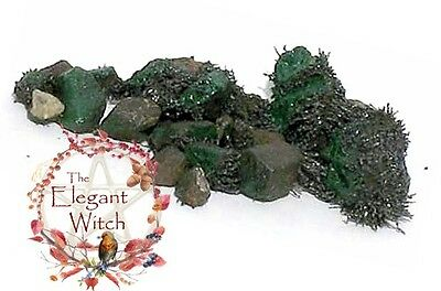 Green Lodestones Wiccan Pagan Witch Luck Healing Attraction Ritual Lodestone 2oz
