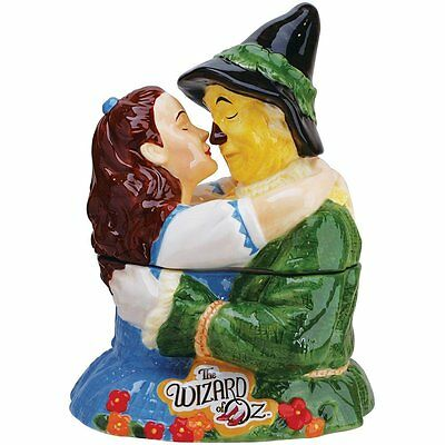 Wizard Of Oz Dorothy and Scarecrow Ceramic Miss You Most Cookie Jar - Westland