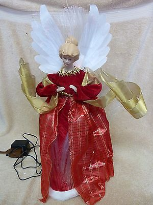 "FIBER OPTIC ANGEL by CREATIVE DESIGN LTD. 16"" Christmas"