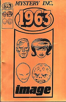 1963 No.1 (Alan Moore) Gold Edition Limited to 500 Copies Signed by Dave Gibbons