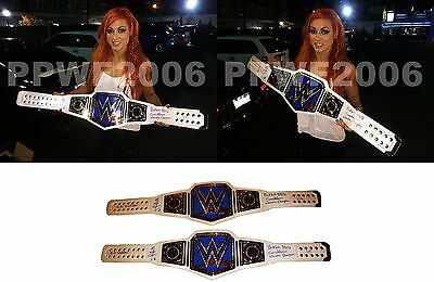 Wwe Becky Lynch Signed Womens Champ Belt Limited Edition To 2 With Pic Proof Coa