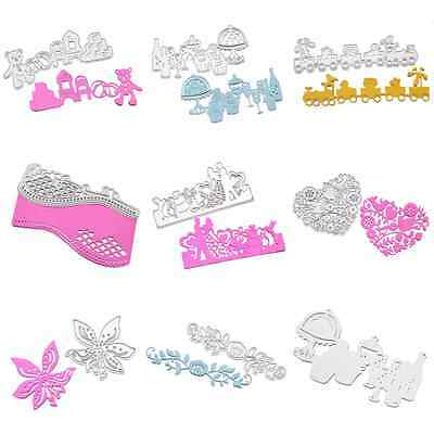 Metal Cutting Dies Stencil DIY Scrapbooking Embossing Wedding Album Paper Card