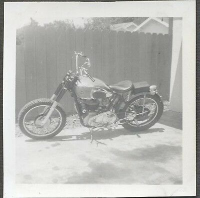 Vintage Photo Matchless Motorcycle 715597