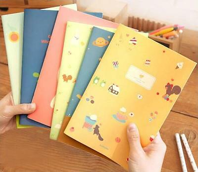 Notebook Korean style Cute cat Little girl Soft manuscripts Notepad Hot A5
