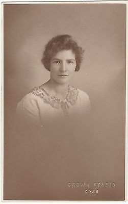 Nz A Lovely Gore Lass Real Photo 1926