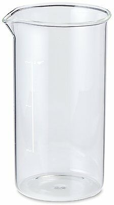 Harold 063R Aerolatte 3-Cup Glass Replacement Carafe - French Press Coffee Maker