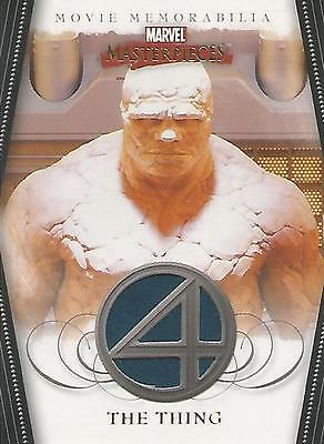 "Marvel Masterpieces 2- FF4 ""The Thing"" Memorabilia Costume Card (Plain)"
