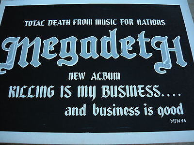 Megadeth - Magazine Cutting (Full Page Advert) (Ref S)