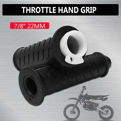 2x 7/8'' Handlebar Throttle Twist Hand Grip For GY6 139QMB 50 150 Scooter Moped