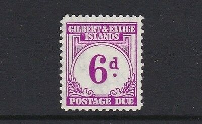 Gilbert & Ellice Islands SGD6 6d Postage Due - mounted mint