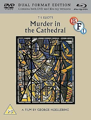Murder in the Cathedral - Dual Format Edition - DVD & Blu ray NEW & SEALED