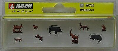 NOCH 36745 Forest Animals 'N' Gauge Model Railway Animals