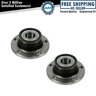 Rear Wheel Hub & Bearing Left LH & Right RH Pair for Audi TT Passat Jetta VW