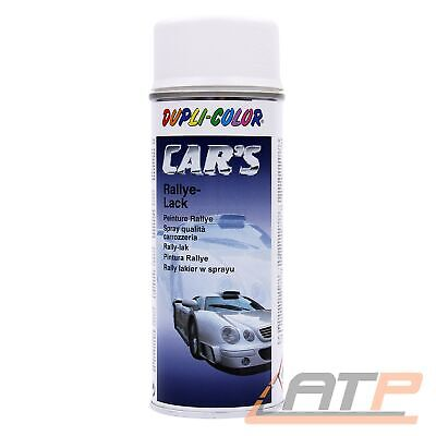 400ml DUPLI COLOR CARS RALLYE 1K LACK SPRAY LACKSPRAY WEISS MATT 32031992