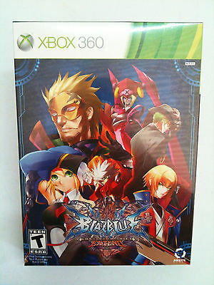 New BlazBlue: Continuum Shift Extend - Limited Edition (Xbox 360) Factory Sealed