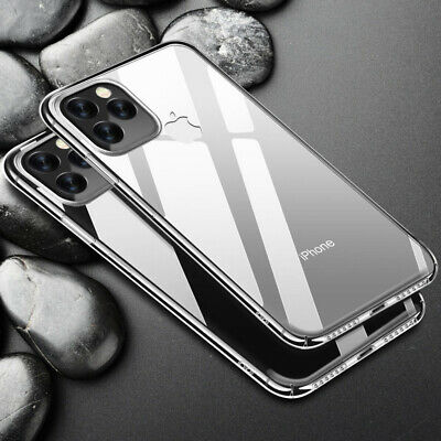 Crystal Clear Ultra thin Hard Back Case Cover For iPhone XS Max XR X 8 7 6s Plus