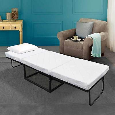 Novaform Home Stowaway Folding Bed Premium Memory Foam Guest Bed New