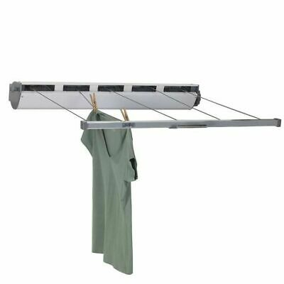 Household Essentials 15-7 Retractable Outdoor Clothesline Dryer 170' Drying Spac