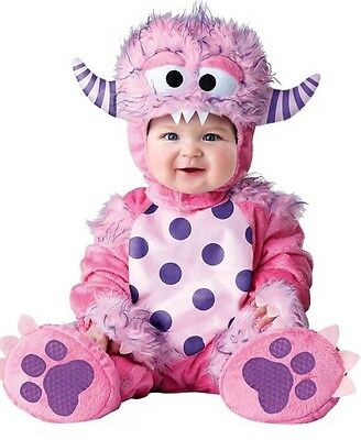 InCharacter Costumes Lil' Pink Monster Baby Infant Medium (12-18 months)