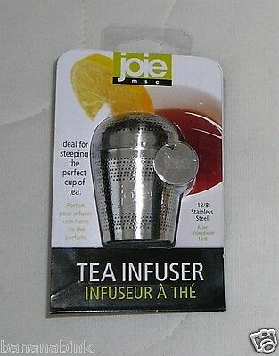 Joie MSC Tea Infuser 18/8 Stainless Steel Steep Steeper Brew