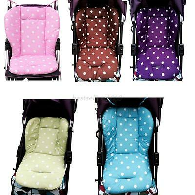 Baby Kids Buggy Thick Pushchair Mat Seat Cushion Liner Cover Stroller Pad Pram