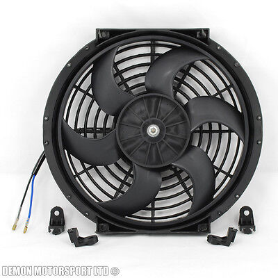 "10"" 10 Inch Fan Universal Performance Push Pull Electric 12v 12 Volt Cooling Fan"