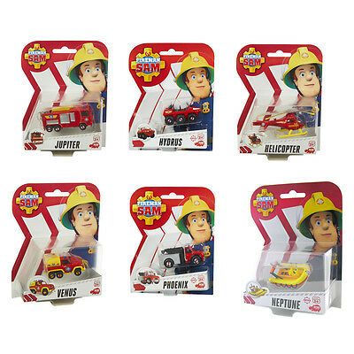 Fireman Sam Die-Cast Vehicles Choice of Vehicles One Supplied NEW