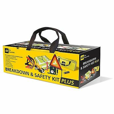 The AA - Breakdown and Safety Kit PLUS (incl tyre inflator)