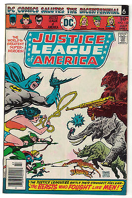DC Comics JUSTICE LEAGUE OF AMERICA The World's Greatest Superheroes No 132 FN