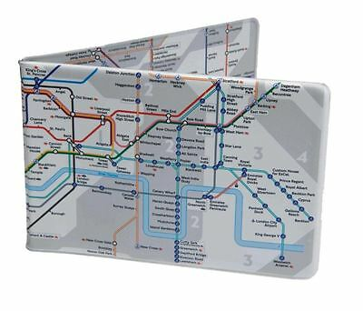Tube Map Oyster Card TRAVEL Wallet London Underground Multiple Colours