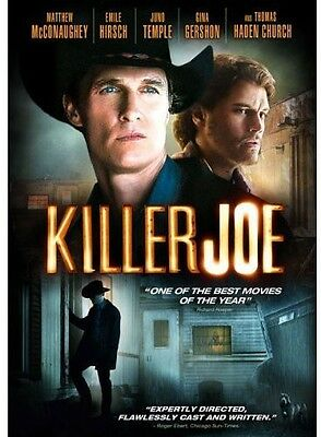 Killer Joe (2012, REGION 1 DVD New) WS