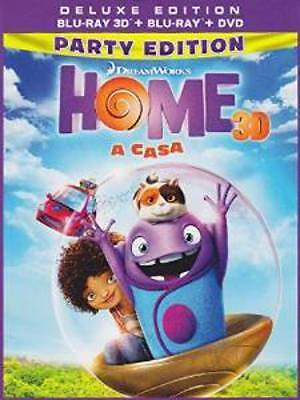 Home - A Casa  3D   Deluxe Edition   Blu-Ray 3D+Blu-Ray