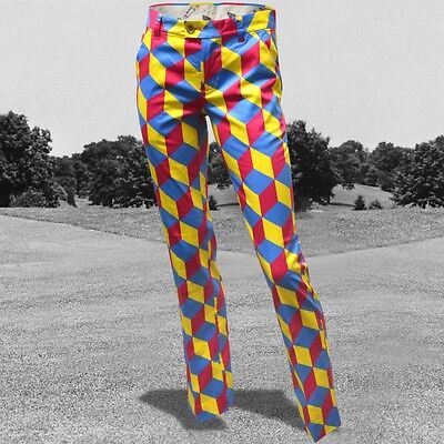 Royal & Awesome Trendy Funky Golf Trousers Knicker Blocker Glory 8,10,12,14,16
