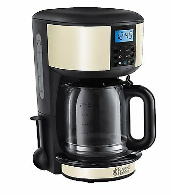 Russell Hobbs 20683 Legacy Filter Coffee Machine with Timer Cream