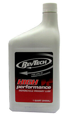 Flexible oil funnel Primary For Harley-Davidson Revtech Primary Lube