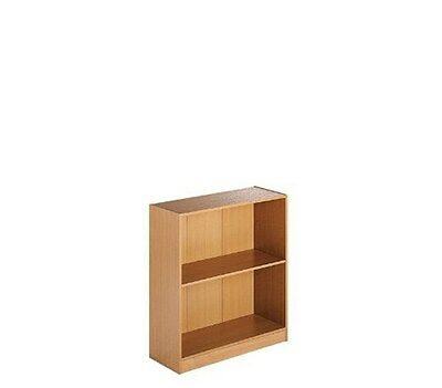 Duo Office Furniture Low Bookcase Beech 39 x 74 x 93cm N6FC