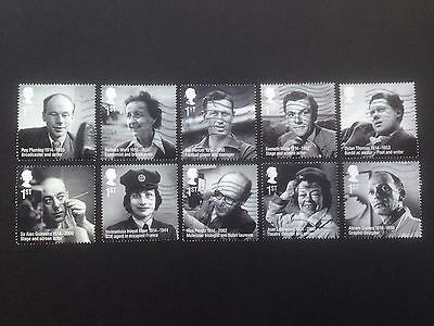 Great Britain 2014 Remarkable Lives used Set