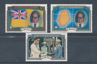 Niue 1984 10th Anniv of Self-government set of 3
