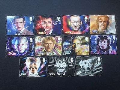 Great Britain 2013 Doctor Who used Set