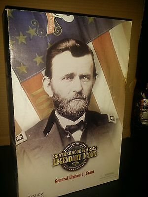 Action Figure 1/6 Sideshow General Ulysses S. Grant - Brotherhood of Arms Box C4