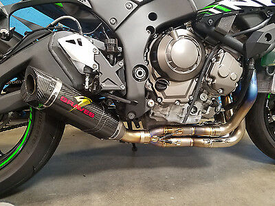 Graves Motorsports Yamaha R1 Full Titanium Exhaust With Carbon 265mm