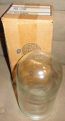 "Appleton Vgl-2Hr Replacement Glass Light Fixture Globe 9"" New In Box"