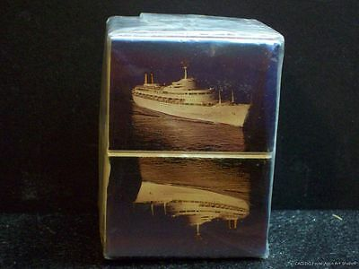 Vintage Cruise Ship Canberra Ocean Liner P&O Unused 10 Matchboxes and Matches