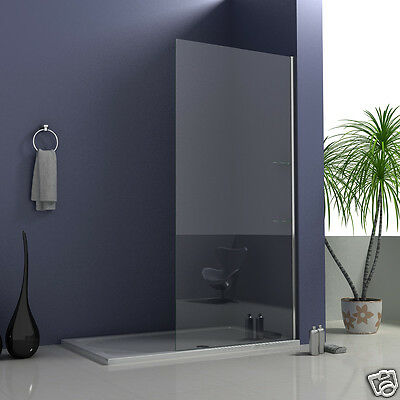 700x2050mm Wet Room Screen Shower Enclosure and Glass Shelves Walk In Tall Panel