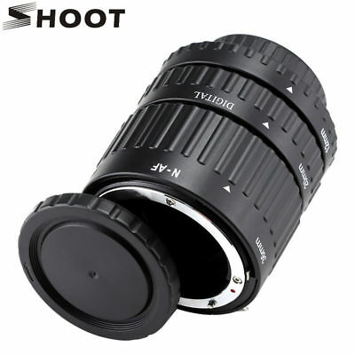 Meike MK-N-AF-B ABS Auto Focus Macro Extension Tube Set For Nikon DSLR Camera AF