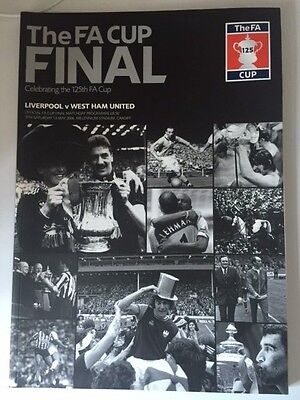 2006 FA CUP FINAL FOOTBALL PROGRAMME  LIVERPOOL v WEST HAM UNITED @ CARDIFF