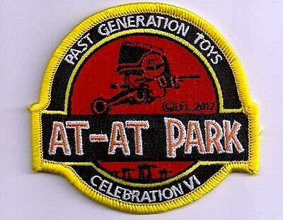 Star Wars - At-At Park Past Generation Toys  - Celebration VI - Patch Aufnäher