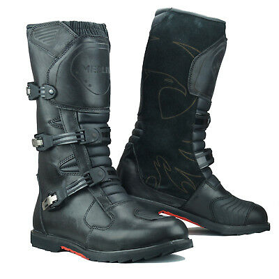 Merlin G24 Enduro Waterproof WP Leather Adventure Motorcycle Touring Boots